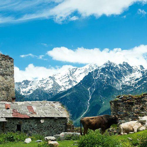 Mountains of Svaneti