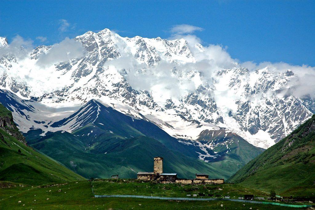 Ushguli, Svaneti region, Georgia