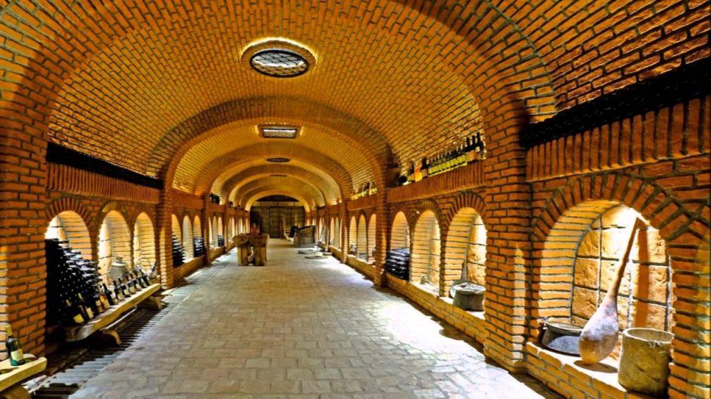 Khareba, Wine Tunnels, Kvareli, Kakheti, Georgia
